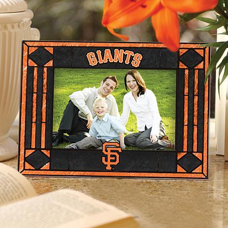 Art Glass Horizontal Frame - San Francisco Giants