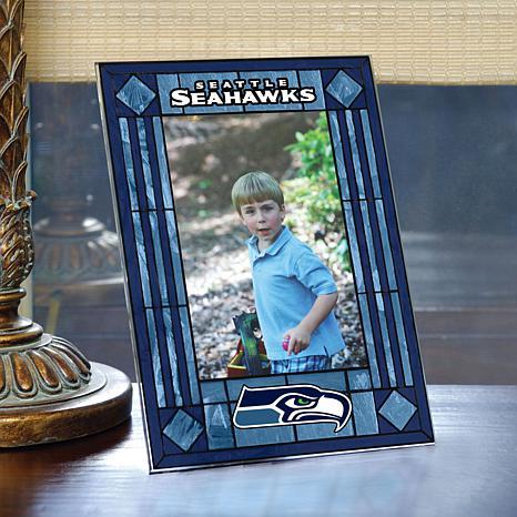 Art Glass Team Photo Frame - Seattle Seahawks - NFL