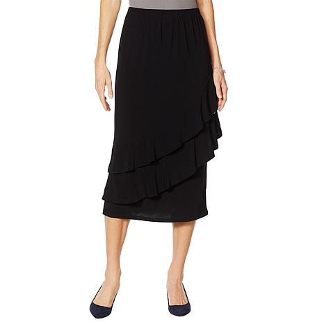 """""""As Is"""" Antthony """"Captivating Collection"""" Tiered Ruffle Skirt"""