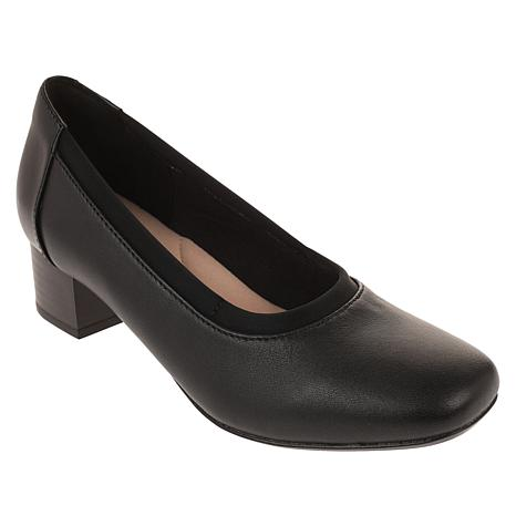 """""""As Is"""" Collection by Clarks Chartli Fame Leather Pump"""