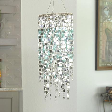 """""""As Is"""" FieldSmith Color-Changing Shimmering Chandelier"""