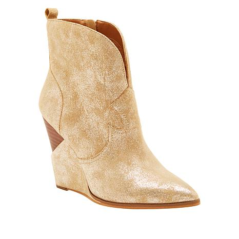 """""""As Is"""" Jessica Simpson Hilarie Wedge Bootie"""