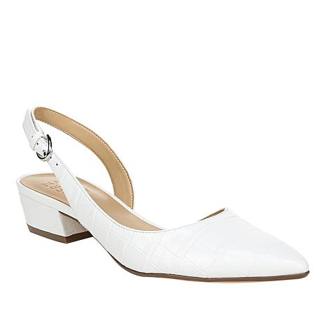 """""""As Is"""" Naturalizer Banks Leather Slingback Pump"""