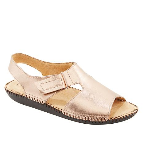 """""""As Is"""" Naturalizer Scout Leather Slingback Sandal"""