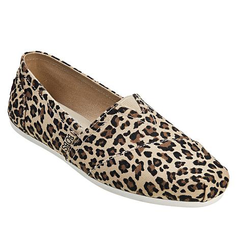 """""""As Is"""" Skechers BOBS Plush Hot-Spotted Slip On Alpargata"""