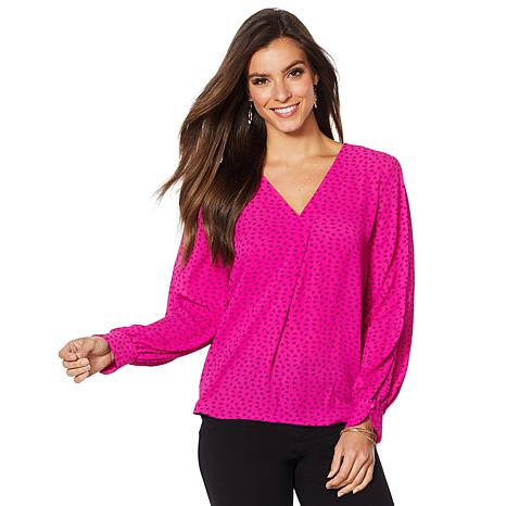 """""""As Is"""" Vince Camuto Soft Texture Blouse"""