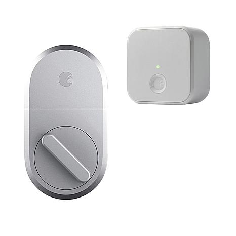 August Keyless Smart Lock with Wi-Fi Connect for Remote Access