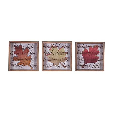 Autumn Leaves Wall Art, S-3