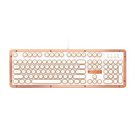 Azio Retro Classic Posh USB Keyboard