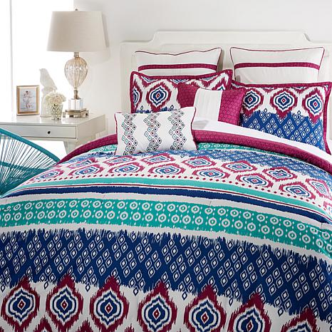 Aztec 8-piece Comforter Set - King