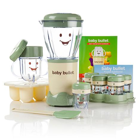 Baby Bullet 20-piece Baby Food System with Cookbook
