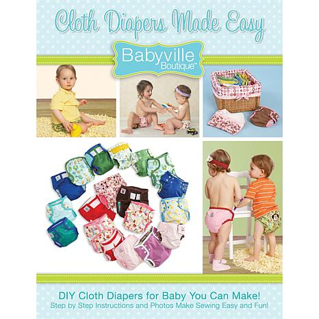 Babyville Boutique Book - Cloth Diapers Made Easy