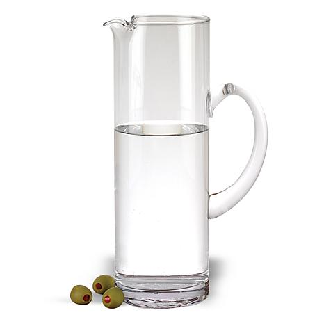 Badash Celebrate Mouth Blown Glass 54 oz. Pitcher