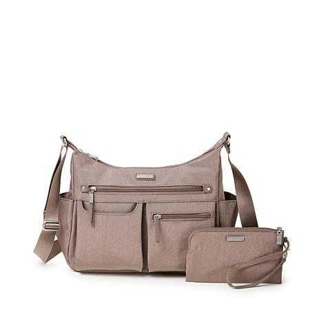 Baggallini Anywhere Hobo with Wristlet