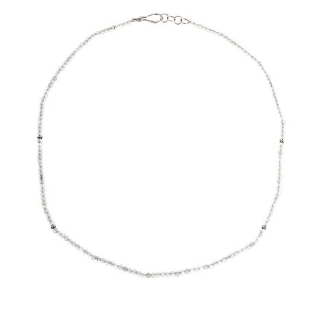 "Bali Designs by Robert Manse Labradorite Bead 18"" Necklace"