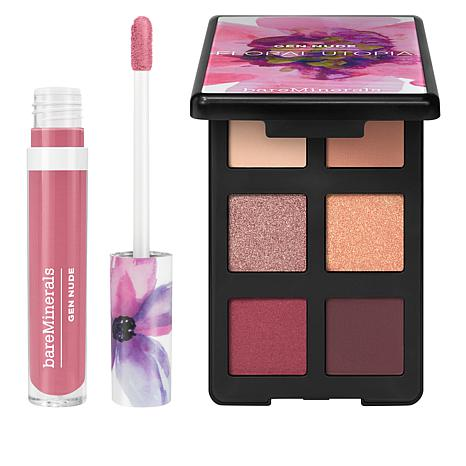 bareMinerals Gen Nude Eyeshadow and Lip Lacquer Duo
