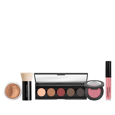 bareMinerals Medium Tan Bounce and Blur 5-piece Collection