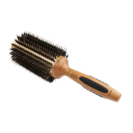 Bass Brushes P Series Straighten and Curl XL Hair Brush w/Nylon Pins