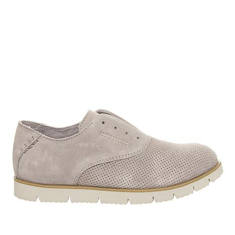 BEARPAW® Haven Suede Laceless Oxford with NeverWet™