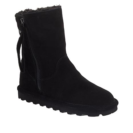 BEARPAW® Lindsay Suede Quilted Boot with NeverWet™