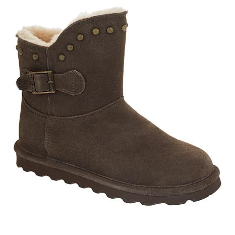 BEARPAW® Minnie Suede Studded Boot with NeverWet™
