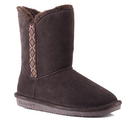 BEARPAW® Paula Suede Beaded Boot with NeverWet™