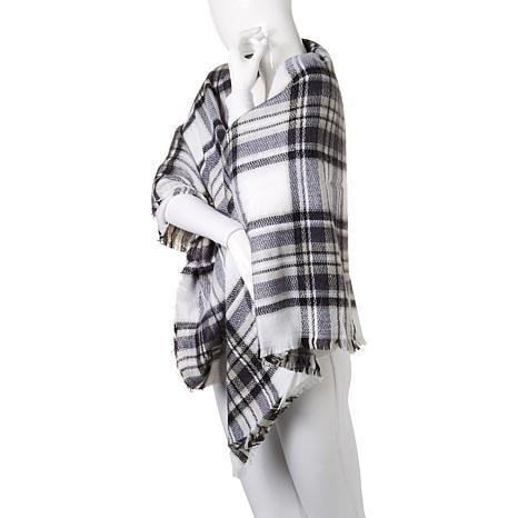 BEARPAW® Plaid Blanket Wrap