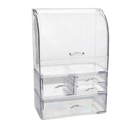 Beauty & Jewelry Extra Large Organizer with 3 Drawers