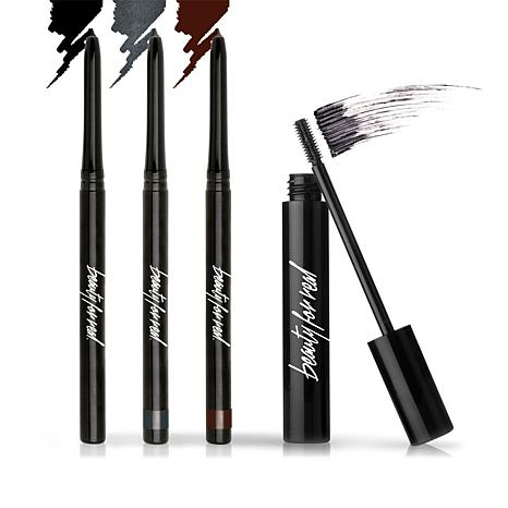 Beauty For Real Eye Essentials Water-Resistant Eye Makeup Set