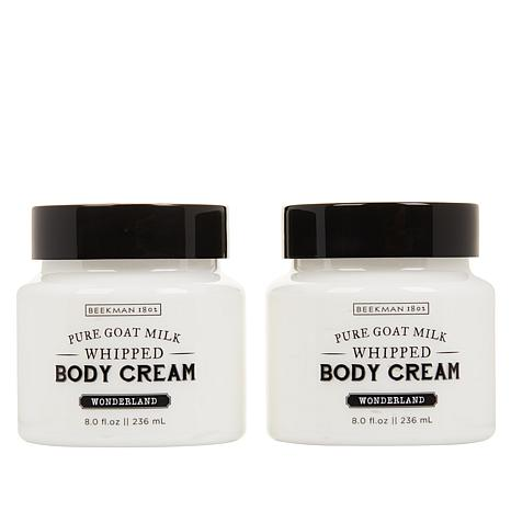 Beekman 1802 2-pack Goat Milk Wonderland Whipped Body Cream