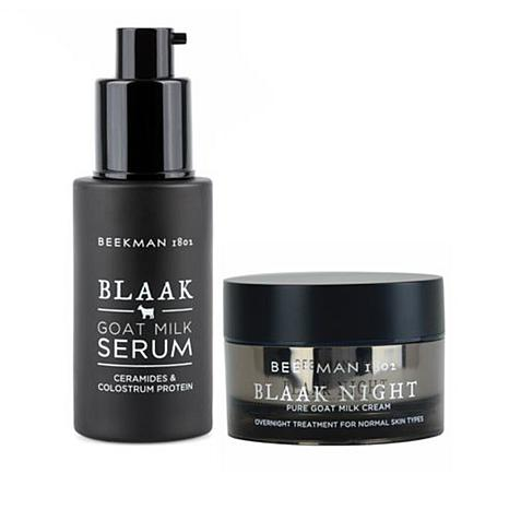 Beekman 1802 Blaak Goat Milk Serum and Night Cream Duo