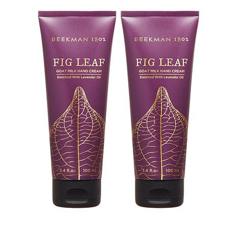 Beekman 1802 Fig Leaf Goat Milk Hand Cream Duo Auto Ship