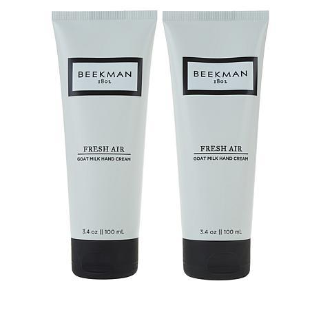 Beekman 1802 Fresh Air Goat Milk Hand Cream Duo