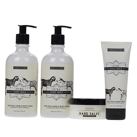 Beekman 1802 Pure Goat Milk Hand Care 4-piece Collection