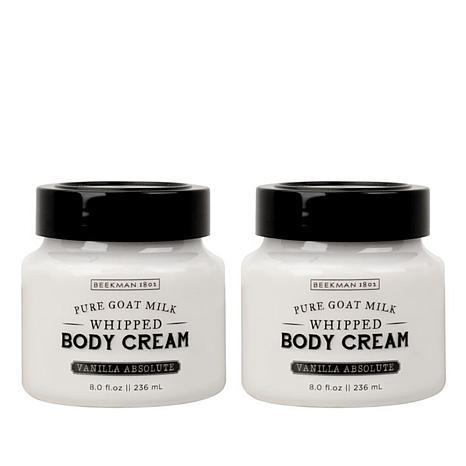 Beekman 1802 Vanilla Absolute Whipped Body Cream Duo Auto-Ship®