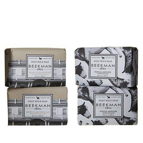 Beekman 1802 Vanilla/Oats 4-piece Bar Soap Combo Pack Auto-Ship®