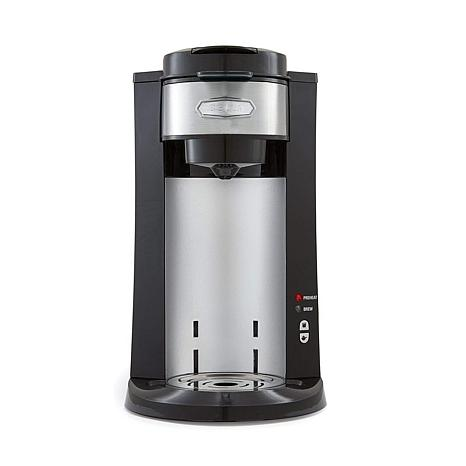 Bella DualBrew Coffee Machine - Black/Stainless Steel
