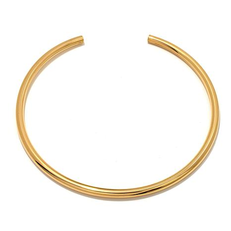 Bellezza Bronze High-Polished Collar Necklace