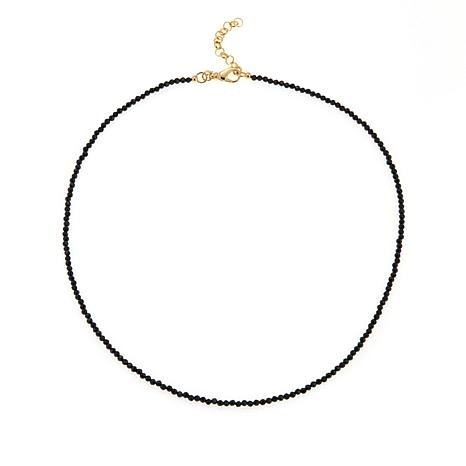 "Bellezza ""Magia Nera"" Black Spinel  Necklace"