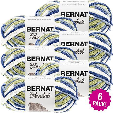 Bernat Blanket Yarn 6-pack - Oceanside