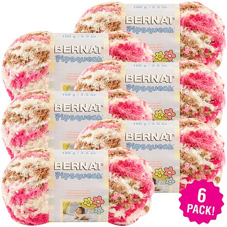 Bernat Pipsqueak Yarn 6-pack - Neopolitan
