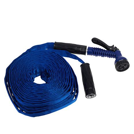 Bionic Force 50' Water Hose with 7-Sprayer Nozzle