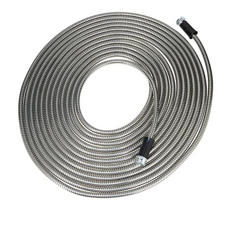 Bionic Steel Water Saving Heavy Duty Garden Hose With Nozzle   10077941 |  HSN