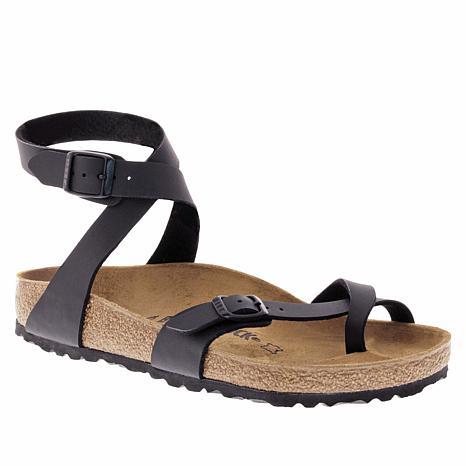 ba5070f55356 Birkenstock Yara Ankle Strap Toe Ring Sandal - 9001630 | HSN