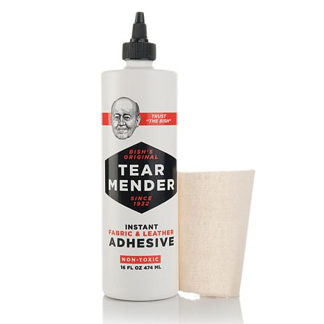 Bish's Original Tear Mender Adhesive 16 oz. Bottle Kit