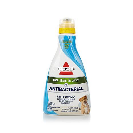 Bissell 40 Fl Oz Pet Stain Odor Antibacterial 2 In 1 Formula