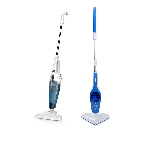 Black & Decker® Bagless Stick Vac and Prolux Steam Mop