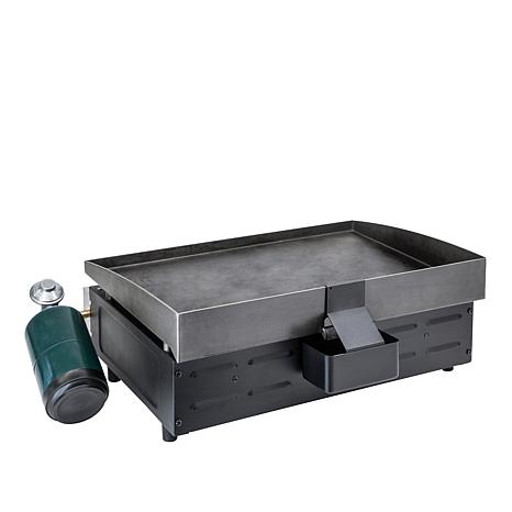 Blackstone portable outdoor 22 table top gas griddle with for Blackstone griddle