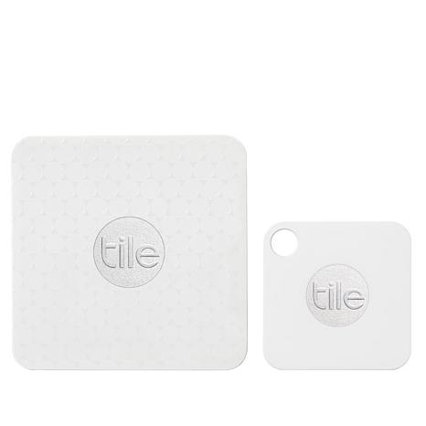 Bluetooth-Enabled Tile Mate and Tile Slim Bundle with Adhesive