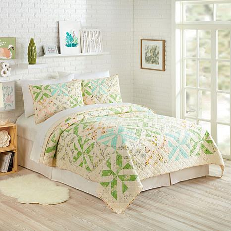 Bonnie Christine Cascade 2pc Quilt Set - Twin